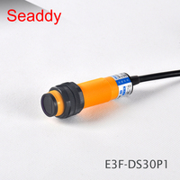 photoelectric switch E3F-DS30P1 6-36VDC 30cm Sensor M18 PNP NO 3 Wires diffuse reflection