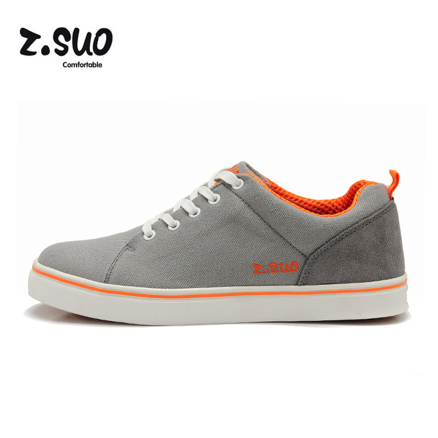 Z Collection Mens Casual Shoes Grey