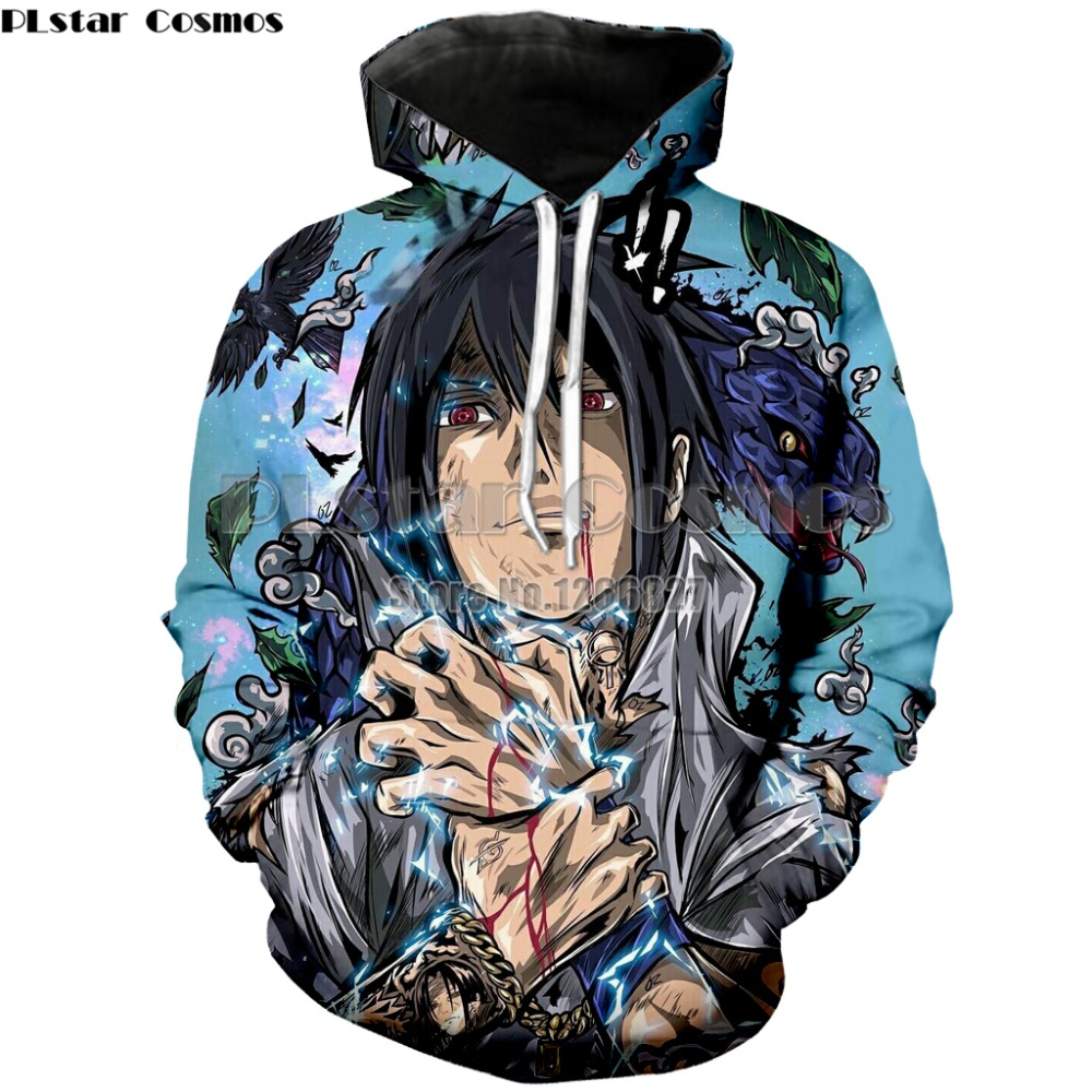 New Hoodies Sasuke Jacket Anime Dragon Ball Super Super Saiyan Goku Ultra Instinct Vegeta sweatshirt Hokage ninja coat