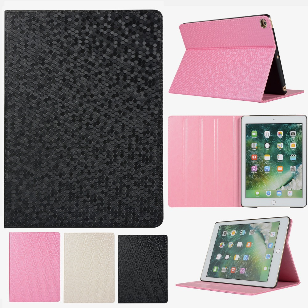 Case For iPad 9.7 2017 2018 Cover Smart Protective Shell Flip Stand Case for ipad Bling Leather Case 9.7 inch стоимость