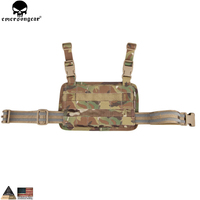 EMERSONGEAR Modular Rife Leg Panel Accessory Bag Nylon Molle Military Combat Gear Multicam Coyote Brown EM6277