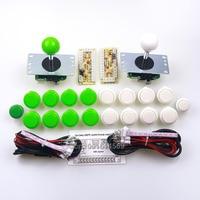 Arcade Raspberry Pi 3B Project Sanwa DIY Kits Parts 16 x Sanwa Button + 2 x Reyann Select Button + Sanwa Stick + Encoder MAME