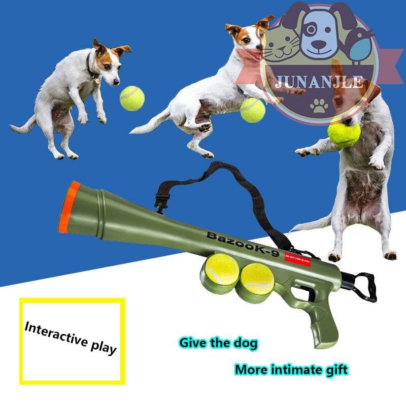 Jouets pour chiens de compagnie balle Interactive jouets d'entraînement à distance vitesse visant chiot grands chiens Pitbull Intelligence formation jouets fournitures pour animaux de compagnie