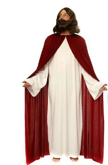 Black classic Priest Costumes with Cross necklace Adult Jesus Virgin Mary pastor nun cosplay party performace Halloween clothes