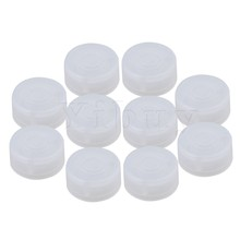 Yibuy 10PCS Plastic Protection Cap for Electric Guitar Effect Pedal Knob
