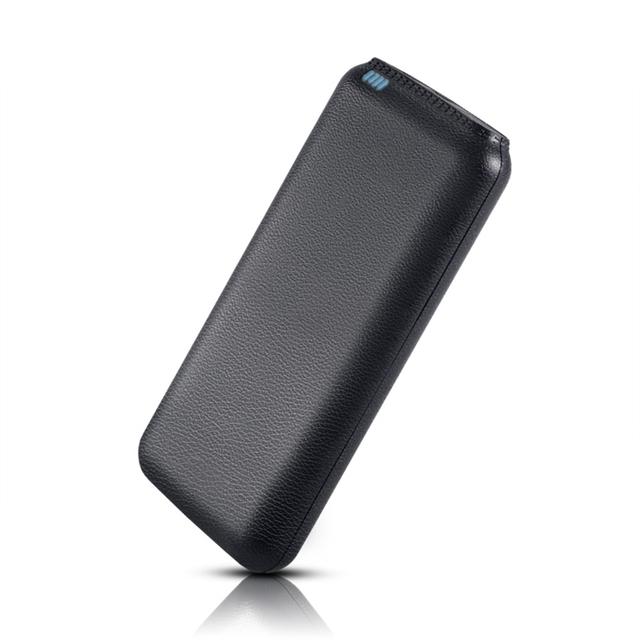 Universal 20000 mah batería externa del cargador del banco de potencia dual usb puertos de carga para el iphone para samsung teléfonos móviles powerbank