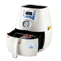 ST 1520 C2 Mini 3D Sublimation Vacuum Heat Press Printer 3D Heat Press Printer For Mugs Phone Case Printing with Accessaries
