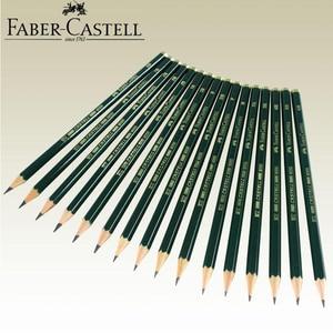 Image 2 - Faber Castell 12 Stuks Merk (6H 8B) Schets En Tekening Potlood Gepersonaliseerde Standaard Potloden Zwarte Tekening Potlood