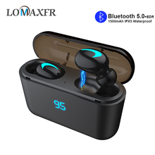 Q32S Tws Bluetooth 5.0 Earphone Wireless Headphones with 3500 mAh Charging Power Bank Box Stereo Mini In Ear 8D Earbuds