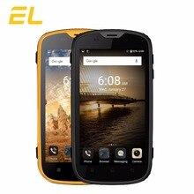 E&L W5S 3G Mobile Phone IP68 Waterproof Shockproof Phone 4.0 Inch Quad Core 8GB ROM 1GB RAM Dual Sim Unlocked Touch Smartphone