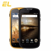 E&L W5S 3G Mobile Phone IP68 Waterproof Shockproof Phone 4.0 Inch Quad Core 8GB ROM 1GB RAM Dual Sim Unlocked Touch Smartphone
