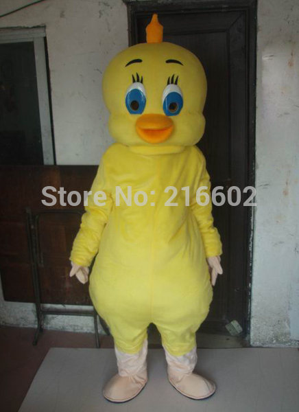 2017 Hot sale Yellow chicken mascot costume adult size chicken mascot costume free shipping
