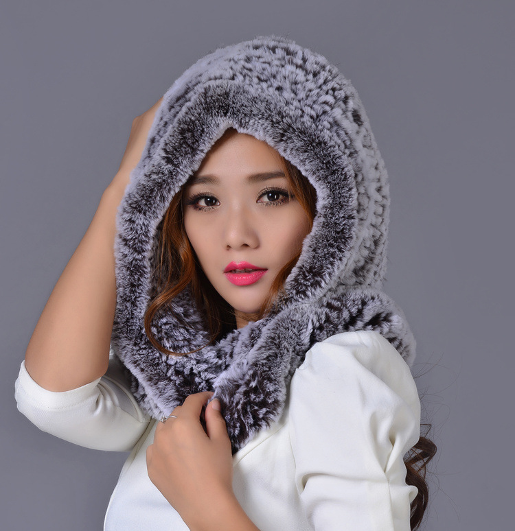 Color Rex Rabbit Fur woven straw hat scarf scarf hat thickening fashion lady electronic level ada prodigit mini