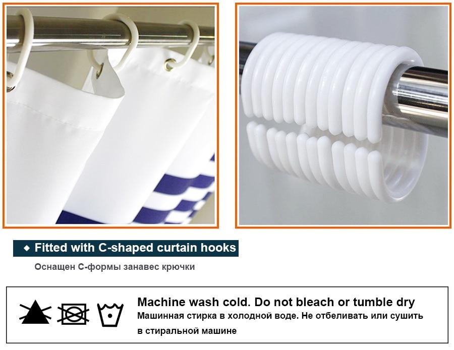 DEARHOUSE Shower Curtain Islamic Religious Church Design Fabric Shower Curtain Bathroom Decor