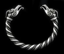 5 unids Nórdico Vikingo Dragón Brazaletes Pulseras Hechas A Mano