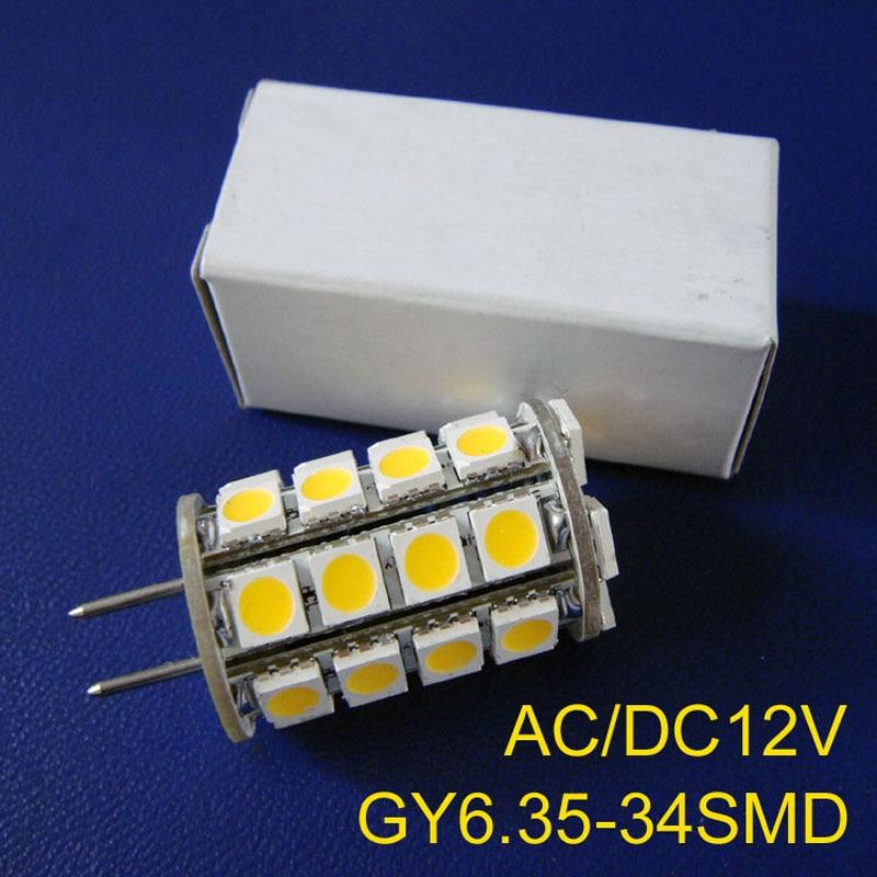 High quality led 12v GY6.35 bulbs,12v 5050 G6.35 led bulb,GY6.35 led lighting free shipping 5pcs/lot high quality 5050 leds ac dc12v gy6 35 led lamps g6 35 led crystal lamp 12v gy6 led bulbs lights free shipping 8pcs lot