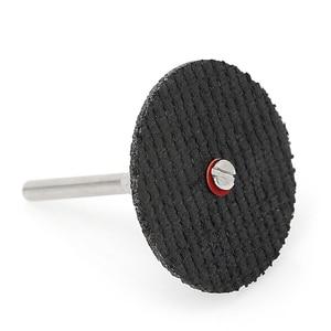 Image 3 - 50Pcs Fiberglass Tool Abrasive Cutting Disc Cut Off Wheel with 4 Mandrels Rotary  Y103
