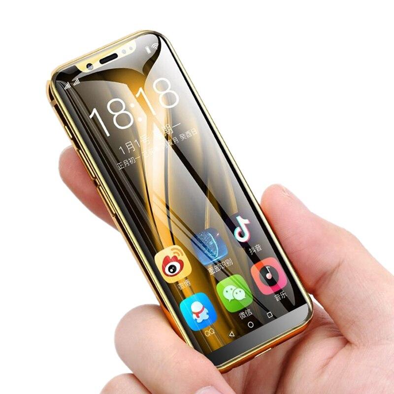 K-TOUCH I9 petit téléphone 3.5 'débloqué téléphone mobile français android 8.1 4G smartphones telefone débloqué téléphones portables mini téléphone