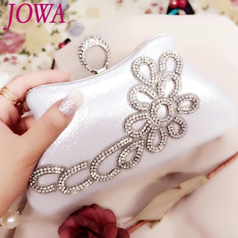 2017 New Design Women's Evening Bags Socialite Diamonds Handbag Wedding Party Clutch Night Gold Purse Chains Knucklebox 2 Color loreal professionnel 4 8 краска для волос мажирель 50мл
