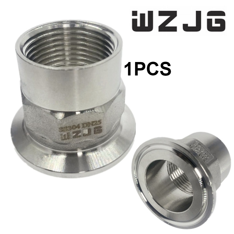 SS304 Thread Hose Pipe Fitting Male x Barb Hose Tail Stainless Steel Connector BSP 1-1//2 x 40MM