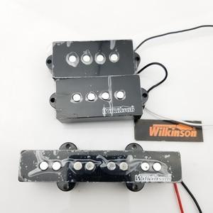 Image 2 - ويلكنسون 4 أوتار بي بي بي لاقط غيتار كهربائي بأربعة أوتار بي باس هامبوكر بيك اب MWPB + MWBJ