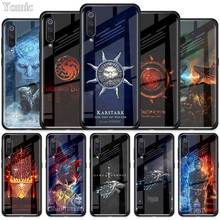 Game Of Throne House Tempered Glass Case for Xiaomi Redmi No
