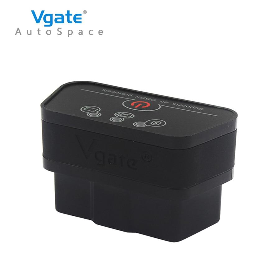 Prix pour Nouveau Vgate iCar2 Bluetooth ELM327 V2.1 OBD2 Voiture Scanner Outil De Diagnostic Lecteur Scan Pour VW Chrysler OBD OBDII 2 II ELM 327 V 2.1
