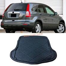 Интерьер Черный Задний Багажник Boot Коврик Ковровое Покрытие Для Honda CR-V CRV 2007-2011