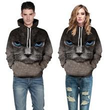 Black Cat 3d Sweatshirt Print Fashion Product Autumn Winter Hoodies Men/Women Hooded Hoodies With Cap S-3XL