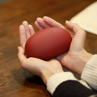 Cute Colorful Magic Bean Electric Hand Warmer 5000MA Power Bank Mobile Cellphone Charger Electric Heater