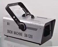 China aliexpress dj 1500 w sneeuw maken machine voor film theater party