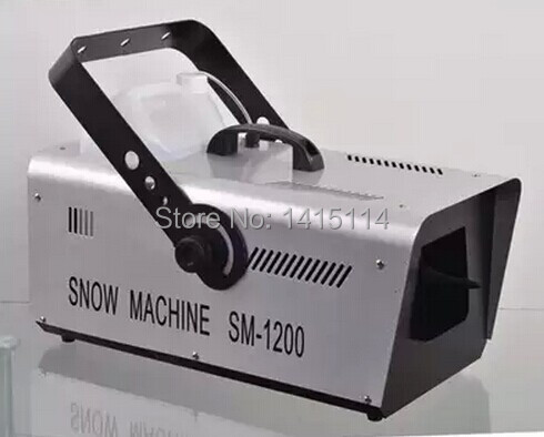US $215 0 |China aliexpress dj equipment 1500w snow making machine for film  theatre party remote control -in Stage Lighting Effect from Lights &
