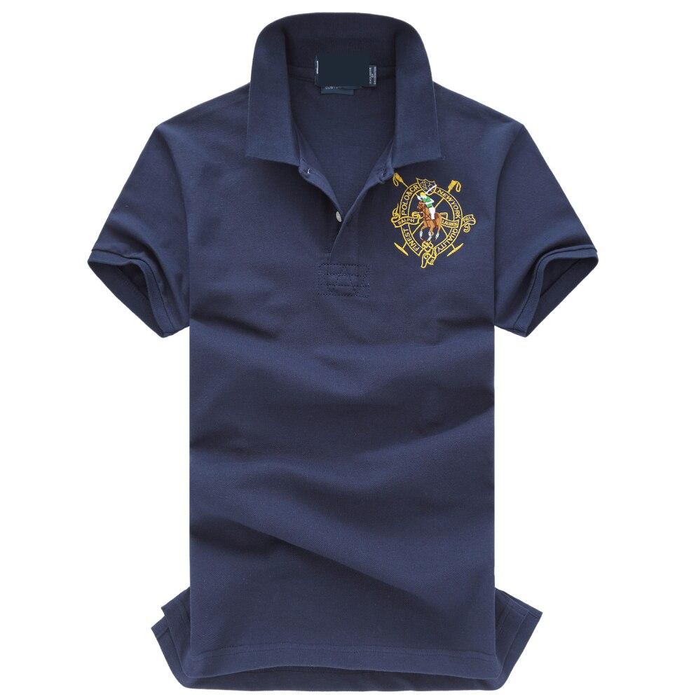 2019 New Men Slim   Polo   Pique Stretchy   Polo   Shirt Men Stripes Ribbed Collar Tops Short Sleeve Tee Shirt Camisa Masculina