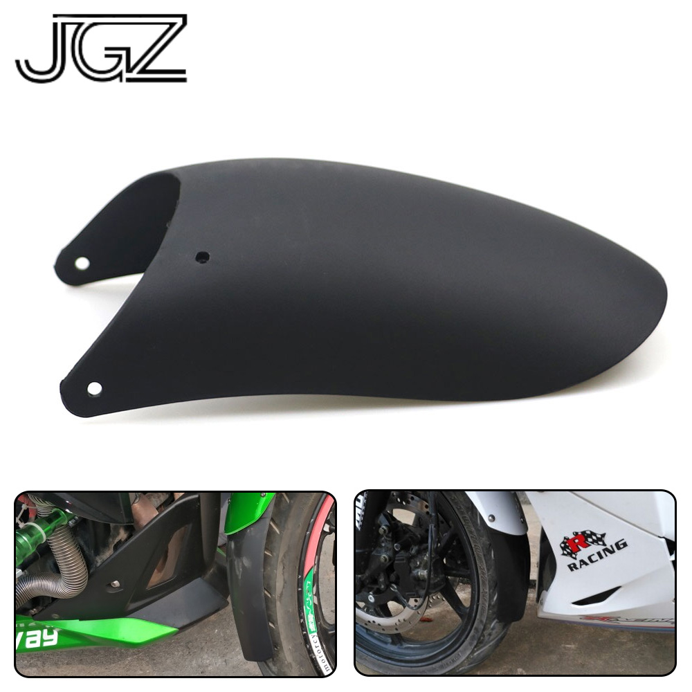 Motorcycle Front Rear Wheel Fender Mudguard Splash Extension Pad Universal for Triumph Honda Chopper BMW Suzuki Accessories black motorcycle front rear mudguard extender fender splash extension pad for honda kawasaki yamaha benelli aprilia ktm ducati
