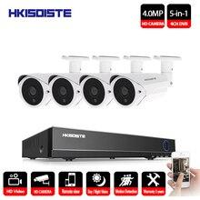 4CH HD 4MP DVR Waterproof Outdoor CCTV Camera Security System Surveillance Kit