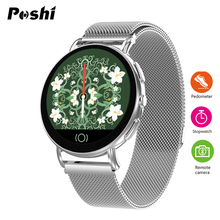 Luxury Brand Women Smart Watch Blood Pressure Monitor Digital Watches Waterproof Stopwatch Pedometer Womens Sport Wristwatches