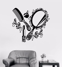Art Salon Sticker Beauty Wall Girls Women Decal Removeable Cute Decor Room Decoration Poster Mural LY66