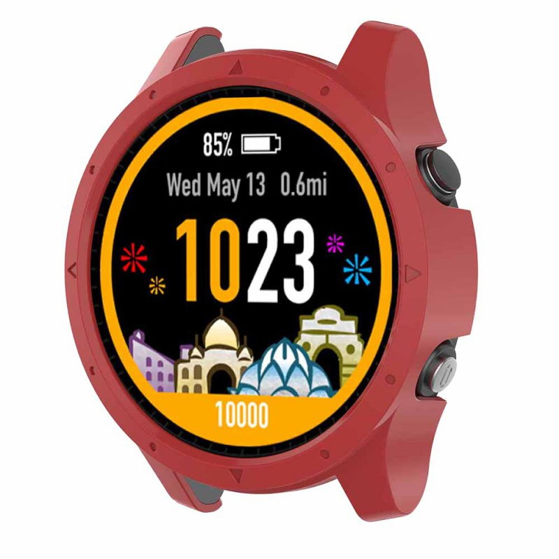 Wear Well Watch Protective Case For Garmin Forerunner 935 GPS Triathlon Sport Running Silicone Watch Back Cover image
