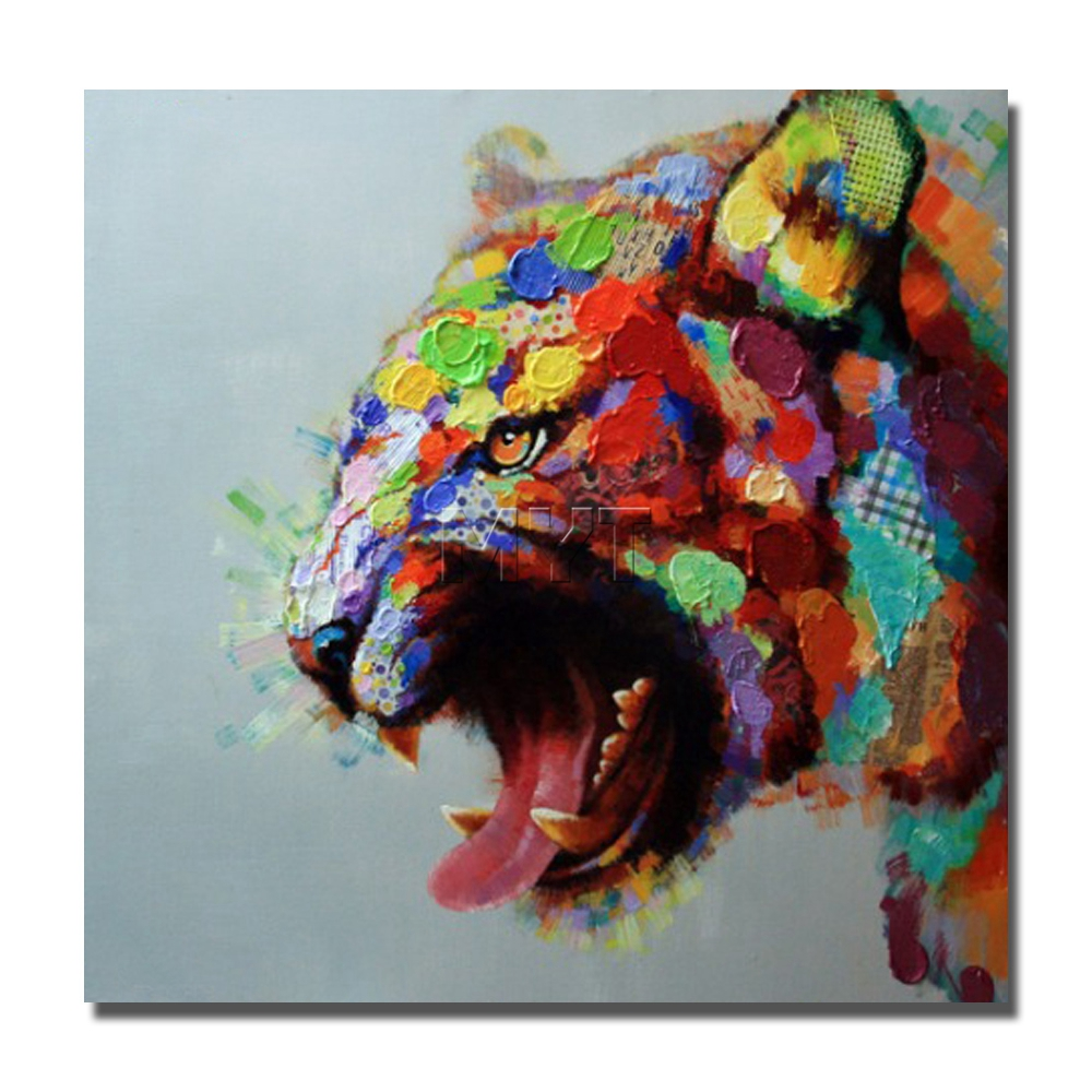 Leopard wild animal pictures handmade handcraft animal for Animal head wall decoration