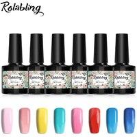 KADS 6pcs Set 7ml Gel Nail Polish Prefect Colors Offer 11 Style Design For Choose For