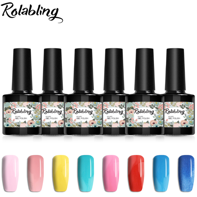 6pcs/set 10ml Gel Nail Polish Prefect Colors offer 11 style design for choose for lucky gel polish nail gel set жидкость domix green professional nail gel polish remuver