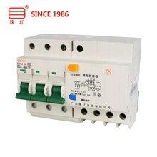 Миниатюрный автоматический выключатель dz47le 3p + n 6a 32a