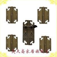 [Haotian vegetariano] muebles antiguos accesorios de cobre/armario estantería kit de manija de gabinete HTC-130