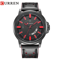 CURREN Watches Men Military Sports Quartz Watches Luxury Brand Fashion Casual Auto Date 3ATM Waterproof Nylon