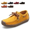 Hot sale Women Fashion Flat Shoes Solid Color Comfortable Woman Loafers Round Toe Casual Shoes Zapatos Mujer 2016 DLT90