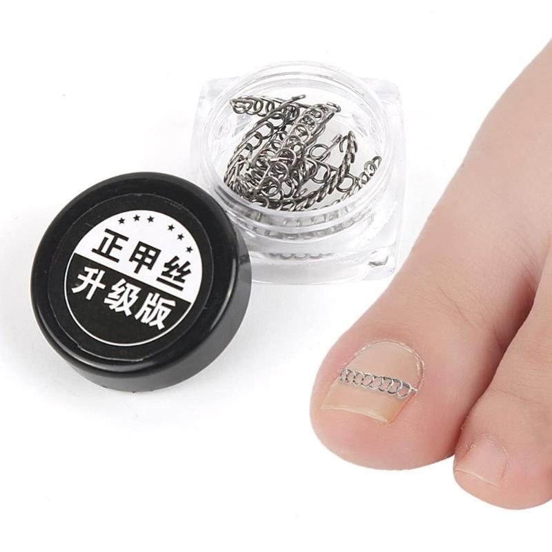 Beauty & Health 12pcs/box Ingrown Toe Nail Correction Wire Fixer Pedicure Paronychia Recover Corrector File Foot Care Tool High Quality Skin Care Tools