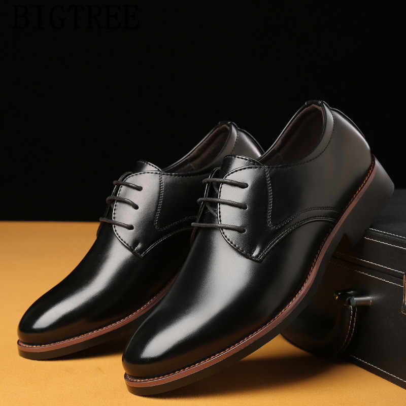 Итальянский свадебные туфли оксфорды для мужчин официальная обувь в деловом стиле мужские оксфорды модельная Кожаная Обувь sapato social masculino couro