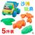 5 pçs/set Novos brinquedos clássicos venda quente ferramenta de brinquedos de praia para crianças de areia jogar água brinquedos para o banho do bebê das crianças juguetes presente