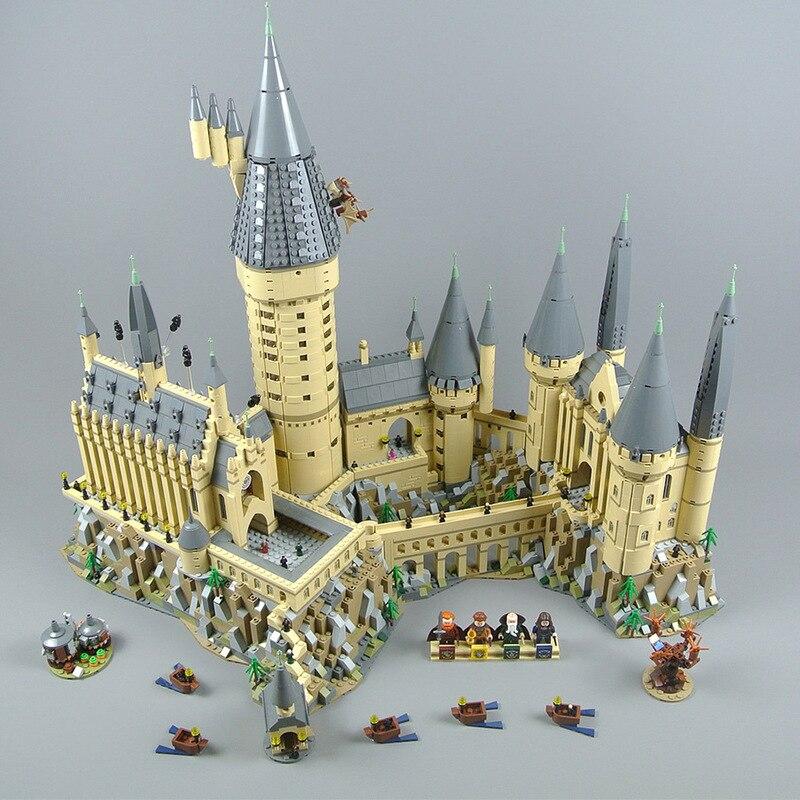 6742 pièces bricolage blocs de construction Harri Film Potter Série Poudlard modèle de château compatible avec Avec Légèreté Jouets Pour Enfants Kid cadeau
