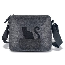 2018 NEW Designer Brand Cute Small Messenger Bag,small Handbag,girl Cat Funny Bag,Green Crossbody Bag Women Bags Gift